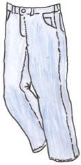 Jeans - Jeans, jean, clothes, Kleidung, blue jeans, clothes, vêtements, Hose, robust, blau, Arbeitshose, Trendhose, köperbindig, Köperbindung, Denim, Baumwolle, modisch, Kleidungsstück, Anlaut H, Anlaut J