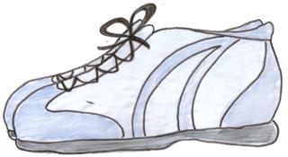 Schuhe - Schuhe, Turnschuhe, chaussures, shoes, vêtements, clothes, Kleidung, Fußbekleidung, Sohle, fest, Schnürsenkel, Schutz, Mode, Schaft, Sneaker, binden, Schuhband, Paar, zwei, Anlaut Sch, Sportschuhe