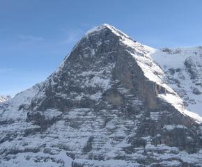 Eiger Nordwand - Geografie, Alpen, Eiger Nordwand, Grindelwald, Schweiz, steil, Dreieck, Kalk
