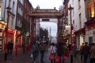 London - Chinatown 1 - London, Chinatown, Großbritannien, Stadtteil