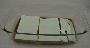 Lasagne #3 - Lasagne, Auflauf, Auflaufform, einschichten, Bechamelsoße, Lasagneplatten, Nudelplatten, Auflaufform, Hackfleischsoße