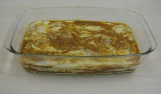 Lasagne #4 - Lasagne, Auflauf, Auflaufform, einschichten, Bechamelsoße, Lasagneplatten, Nudelplatten, Auflaufform, Hackfleischsoße