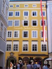 Mozarthaus  - Musik, Mozart, Salzburg, Getreidegasse