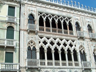 Venezianischer Palazzo: Das piano nobile - Italien, Italienisch, Landeskunde, Architektur, Venedig, Palazzo, Canal Grande