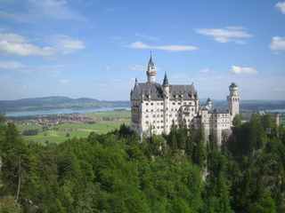 Schloss Neuschwanstein - Schloss, Neuschwanstein, Bayern, Forggensee, König Ludwig II, Historismus