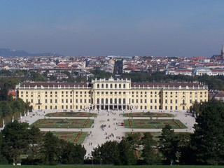 Schloss Schönbrunn - Wien, Schloss, Schönbrunn, Sissi, Schlossgarten, Park