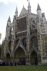 Westminster Abbey 2 - London, Westminster Abbey, Abtei, Kirche, Gotik, Rosette