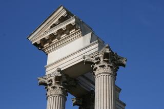 Detailbild Tempel Xanten - Xanten, Rom, Antike, Tempel, Säulen