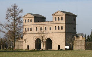 großes Stadttor Colonia Ulpia Traiana - Xanten, Rom, Antike, Stadttor, römisch