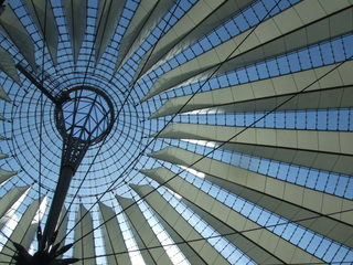 Sony Center - Sony center, Berlin, Architektur, Kuppel, Sony Center