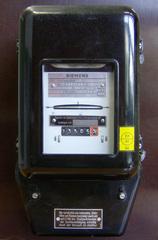 Stromzähler - Stromzähler, Messung, elektrische Energie, Elektrizität, Stromnetz, Wechselstrom, Drehstrom, Spannung, Kilowattstunden, elektrische Arbeit, Messgerät