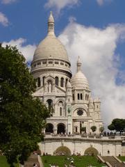 Sacré-Coeur - Sacre-Coeur, Paris, Kirche, Montmartre, Architektur, Nacht, Wahrzeichen, Frankreich, France, Geographie, Französisch