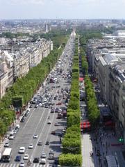 Champs Elysées - Champs Elysées, Paris, Avenue, Straße, Perspektive, Fluchtpunkt