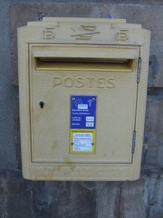 Briefkasten - Brief, Briefkasten, Landeskunde, Frankreich, Post