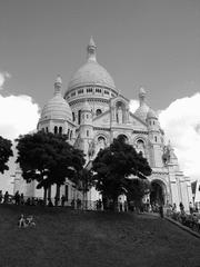 Sacré-Coeur - Sacre-Coeur, Kirche, Paris, Sehenswürdigkeit, Frankreich, Montmartre