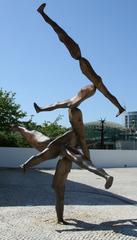 Rhizome  #1 - Skulptur, abstrakt, modern, Eisen