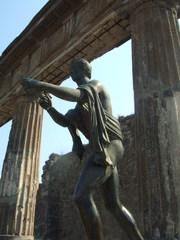 Apollontempel - Apollo, Pompei, Vesuv, Italien, Römer, Tempel