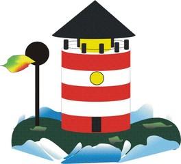 Leuchtturm - Leuchtturm, Signal, Meer, Insel, leuchten, Licht