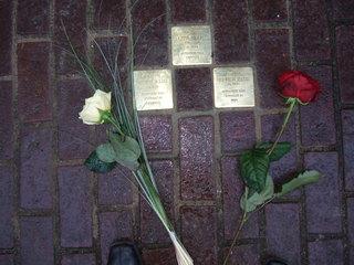 Stolpersteine - jüdische Mitbürger, Gedenken, Stolpersteine, Judentum