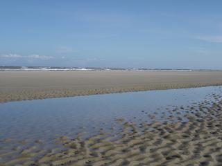 Wattstrand #1 - Meer, Nordsee, Wattstrand, Strand, Borkum, Priel, Gezeiten