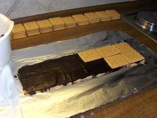 Kalte Schnauze # 3 - Die zweite Schicht - Kuchen, Kekse, Butterkekse, Schokolade, Schokoladencreme, Kalorien, süß, braun, lecker, Fett, backen, Geburtstag