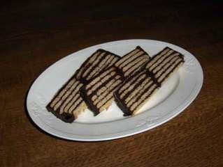 Kalte Schnauze # 5 -  aufgeschnitten - Kuchen, Kekse, Butterkekse, Schokolade, Schokoladencreme, Kalorien, süß, braun, lecker, Fett, backen, Geburtstag
