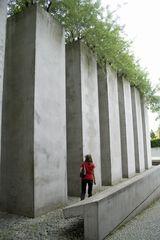 Garten des Exils 1 - Exil, Steinquader, Liebeskind, Juden, jüdisches Museum, Holocaust, Berlin, Quader