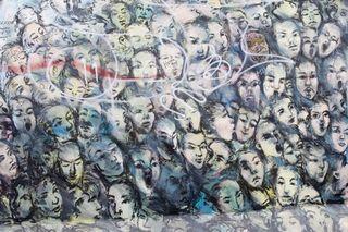 Gesichter der Mauer - Mauer, Wiedervereinigung, Mauerkunst, Berlin