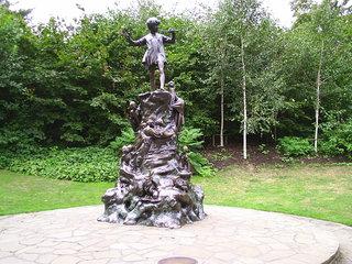 Peter Pan Statue - London, Hyde Park, Peter Pan, Park, Statue