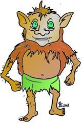 Troll - Troll, Fantasie, Märchen, Schreck, fremd, erschreckend, Gnom, Kobold, Unhold