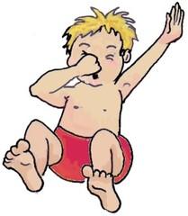 Bub  - Kind, Bub, Junge, schwimmen, springen, tauchen, Kind