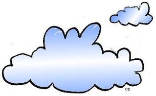 Wolken - Natur, Wetter, Wolken, Wolke, Himmel, Anlaut W