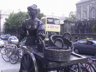 Molly Malone - Landeskunde, Irland, Dublin, Molly Malone