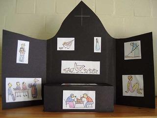 weibliche Gottesbilder - Bibel, Altar, Gott, Religion, Mutter, Fürsorge, Zuwendung, Vogeljunge