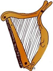 Harfe - Harfe, Musik, Instrument, Leier, Lyra, Saiten, Anlaut H