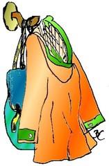 Kleiderhaken - Kleidung, Textilien, Haken, Kleiderhaken, aufhängen