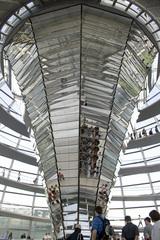 Verspiegelter Trichter - Trichter, Spiegel, Reichstag, Foster, Berlin, Bundestag