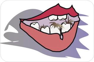 Sprichwörter - bildlich dargestellt - Sprichwort, Redewendung, Umgangssprache, bildlich, Haare, Zähne