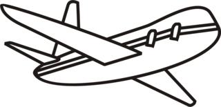 Flugzeug - Flugzeug, Flieger, fliegen, Urlaub, Anlaut F, Wörter mit eu