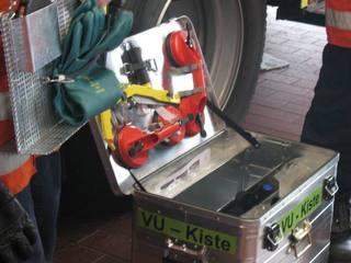 Feuerwehraussrüstung - Feuerwehr, Ausrüstung, Fahrzeugausstattung HLF, Unfallrettung