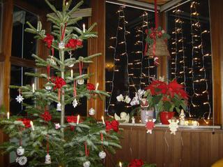 Weihnachtsbaum/Weihnachtsschmuck - Deko, Weihnachtsdeko, Weihnachtsbaum, Kugeln, Sterne, Schleifen, Kerzen, Engel, Weihnachtsstern, Lichterkette, Fensterschmuck, Glocke, Christbaum