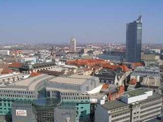 Leipzig -  Sehenswürdigkeiten - Deutschland, Sachsen, Leipzig, Landeskunde, Ausflug, Ausblick, Architektur, Städtebau, Fassaden
