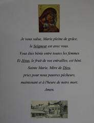 Je vous salue Marie - Religion, Ave Maria, Grundgebet, katholisch