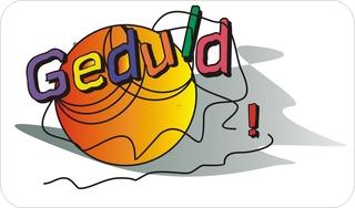 Sprichwörter - bildlich dargestellt - Sprichwort, Redewendung, Umgangssprache, bildlich, Geduld, Faden reißen
