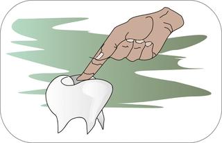 Sprichwörter - bildlich dargestellt - Sprichwort, Redewendung, Umgangssprache, bildlich, Zahn, fühlen