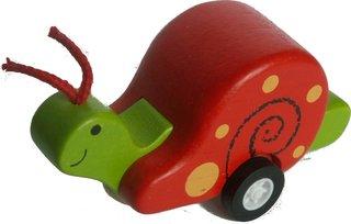 Eine Spielzeugschnecke - Physik, Geschwindigkeit, Messen, Bewegung, Schnecke, fröhlich, Spielzeug, langsam, Fühler, spielen