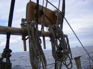 Nagelbank - Segelschiff - Colin Archer, Oldtimer, Belegnägel, Schoten, Segeln, Norwegen, Rettungsboot, Nagelbank, Segelschiff, Vorrichtung