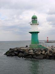 Doppel-Leuchtturm - Leuchtturm, lotsen, Leuchtfeuer, Signal, Schifffahrt, Rostock, Warnemünde, Mole