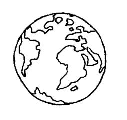 Erdkugel - Erde, Welt, Erdkugel, Anlaut E