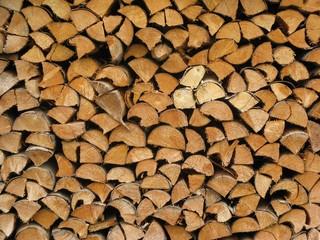 Holzstoß #1 - Holz, schlichten, schichten, geschlichtet, aufgerichtet, Struktur, Oberfläche, geordnet, Holzstoß, Scheiter, Scheit, Brennholz, aufgeschichtet, Holznutzung, Forstwirtschaft, Wald, Feuerholz